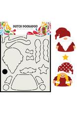 Dutch Doobadoo DDBD Card Art Built up Gnome