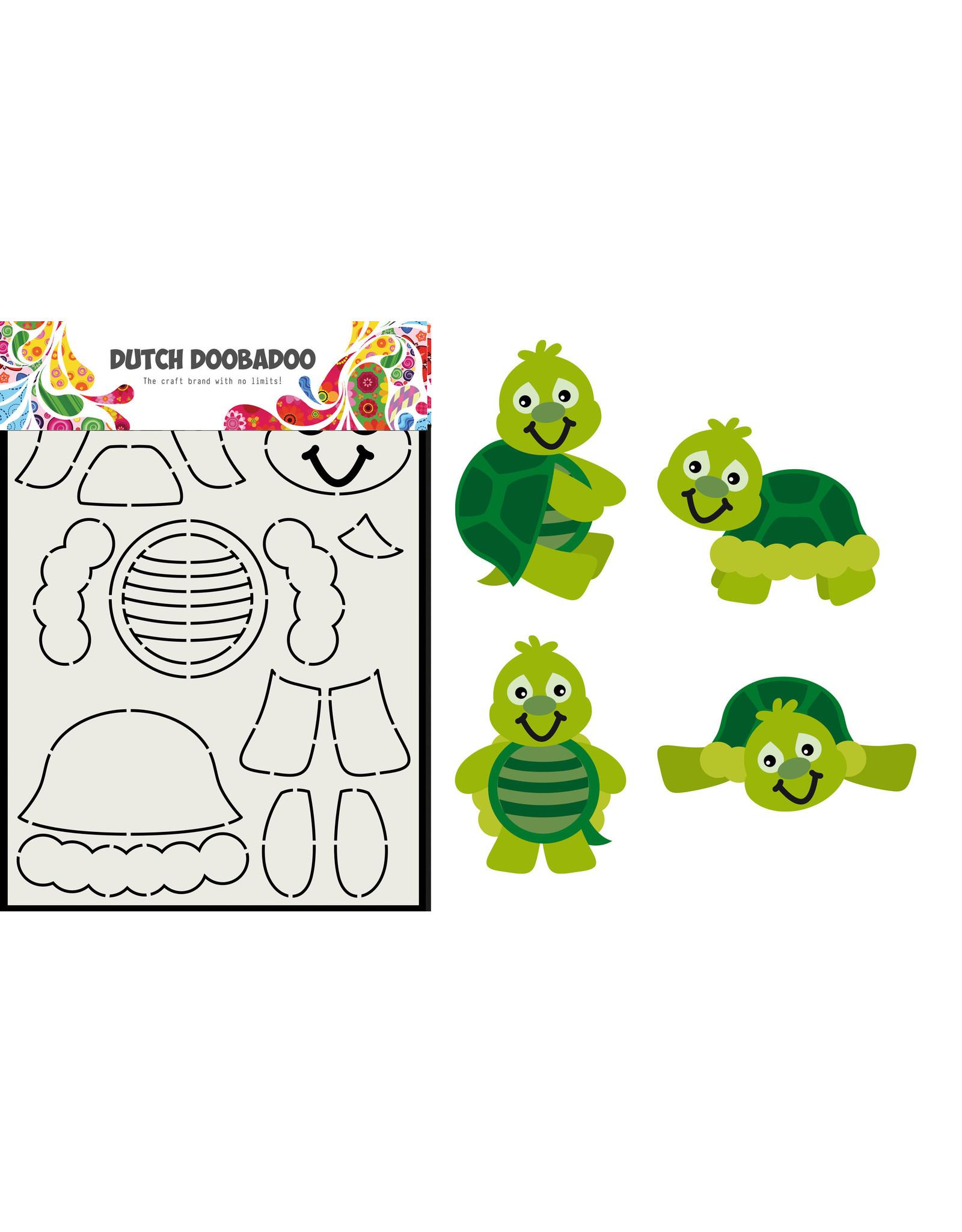 Dutch Doobadoo DDBD Card Art Build up Schildpad A5