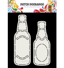 Dutch Doobadoo DDBD Card Art Bierflesjes A5