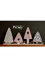 Pronty Crafts MDF  Christmas Trees