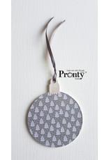 Pronty Crafts MDF Christmas Balls 10-pack