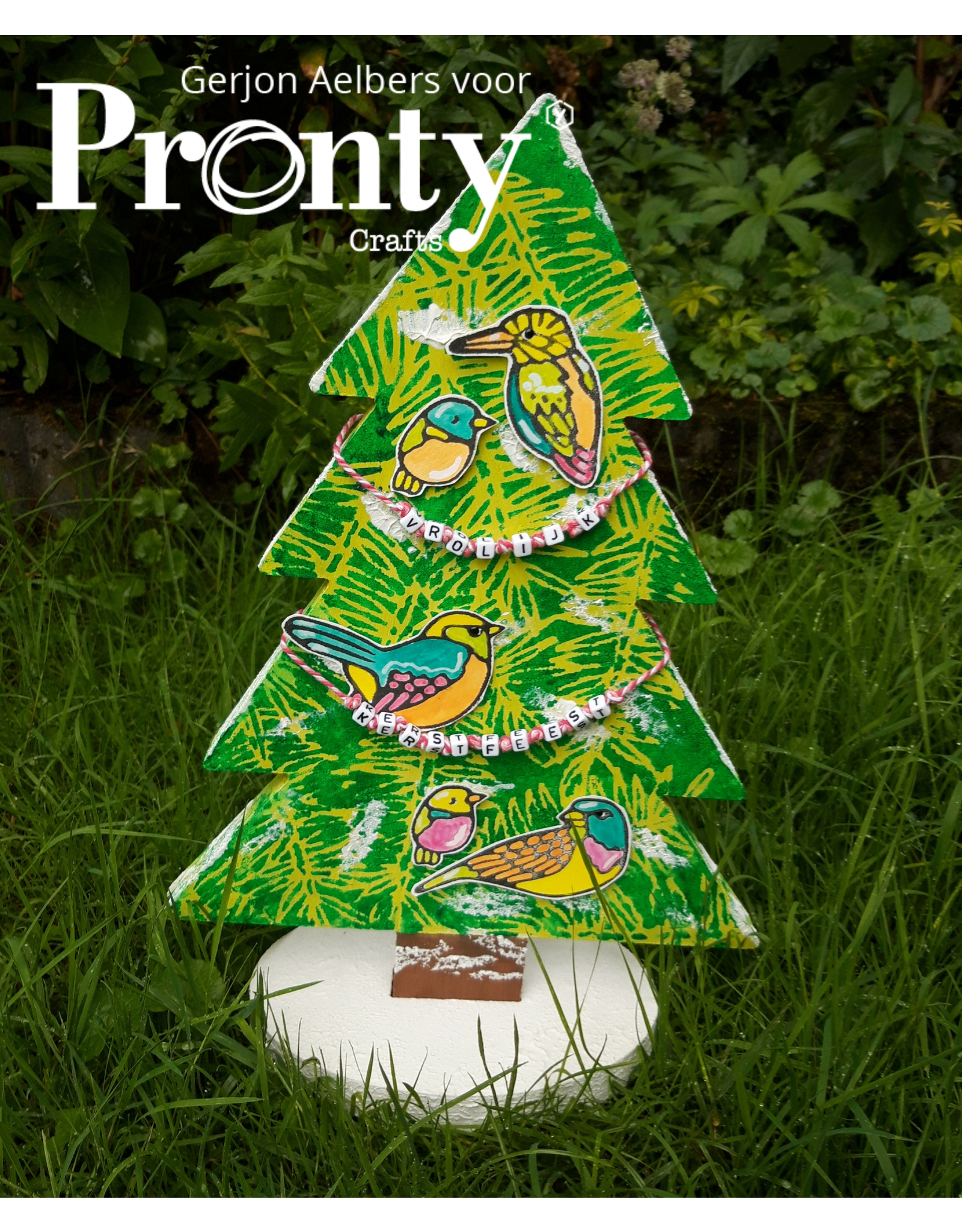 Pronty Crafts MDF 3D Christmas Tree
