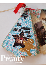 Pronty Crafts MDF Scrapbook Tree with star