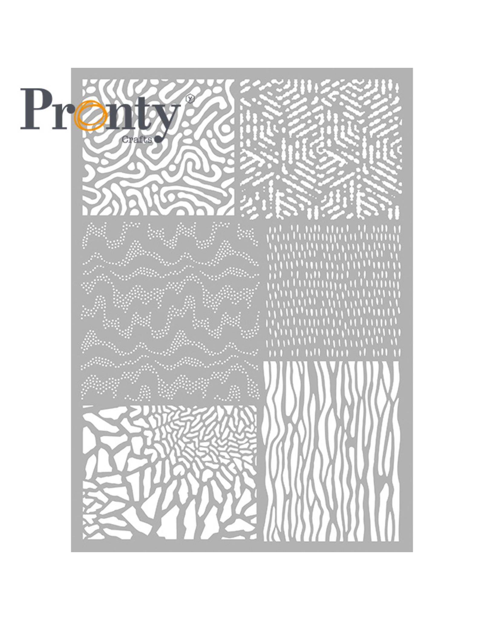 Pronty Crafts Stencil Pattern Background  A4