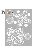 Pronty Crafts Stencil Layered Circles A4