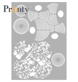 Pronty Crafts Stencil Layered Circles A4