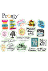 Pronty Crafts Embellishments Quotes print