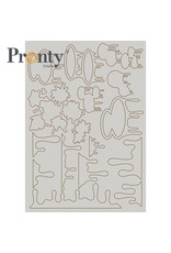 Pronty Crafts Chipboard A5 Pronty Paint
