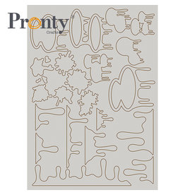 Pronty Crafts Chipboard A5 Pronty Paint