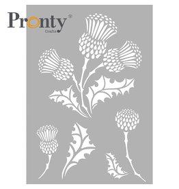 Pronty Crafts Stencil Thistle A4