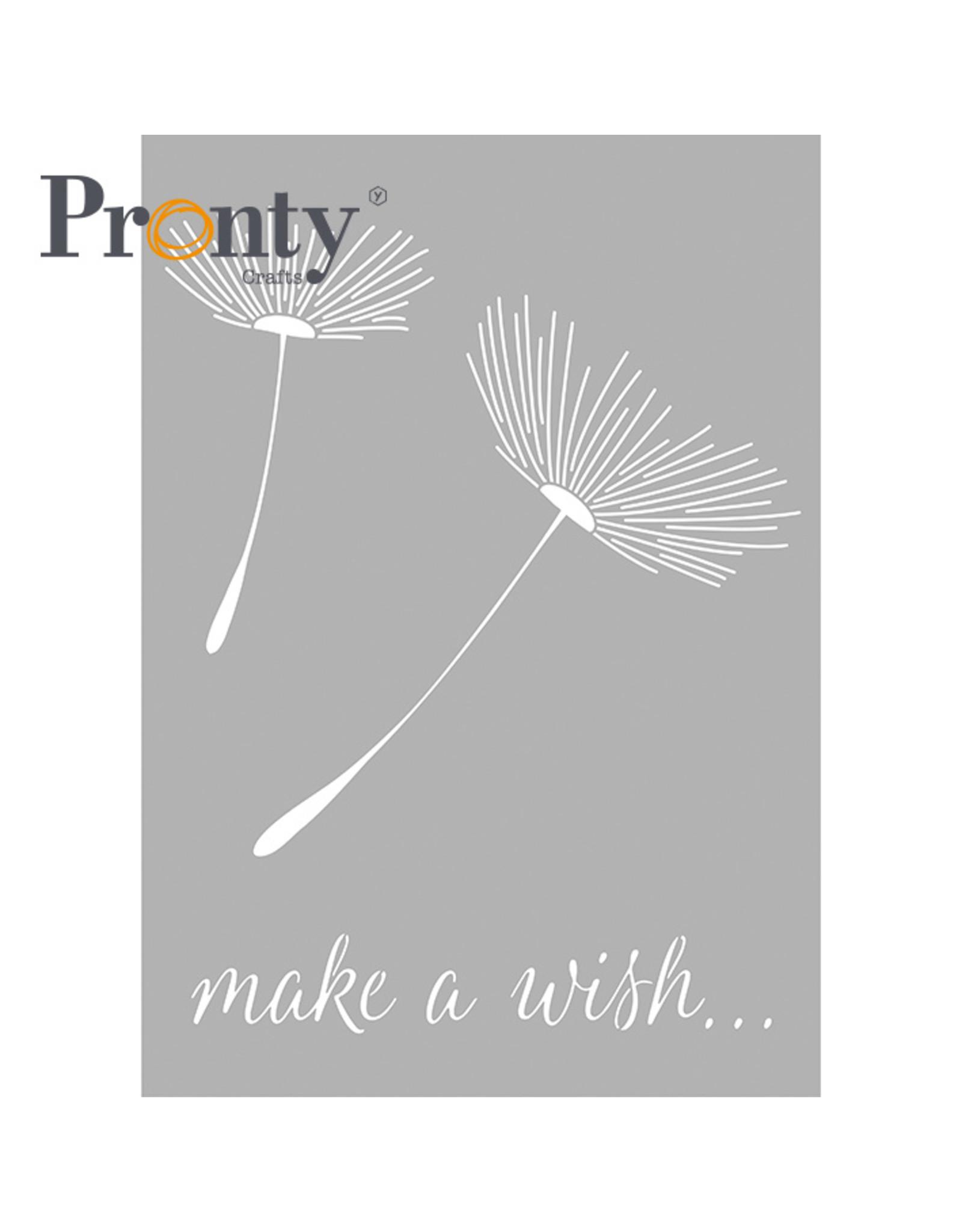 Pronty Crafts Stencil Dandelion A4