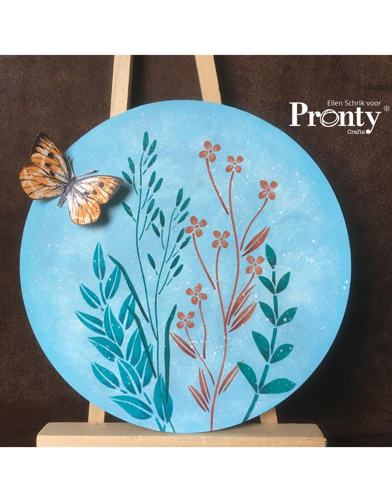 Pronty Crafts Stencil Branches A4