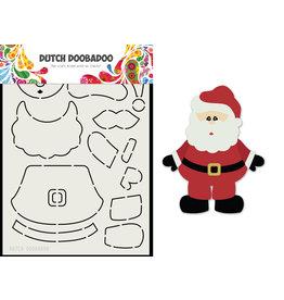 Dutch Doobadoo DDBD Card Art Built up Santa