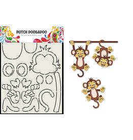 Dutch Doobadoo DDBD Card Art Built up Aap