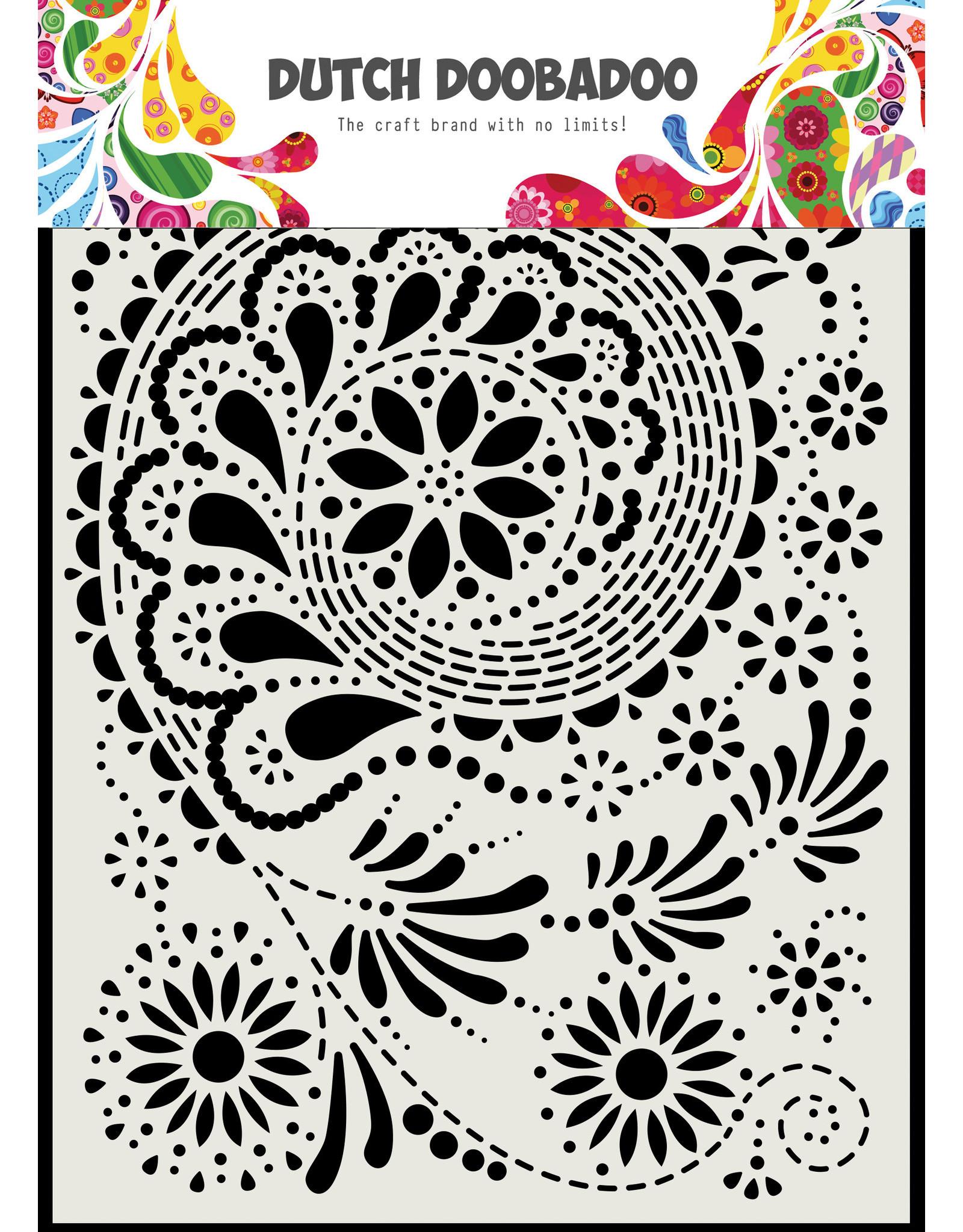 "Dutch Doobadoo DDBD Dutch Mask Art ""Paisley"" A5"