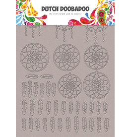 Dutch Doobadoo DDBD Greyboard Art Dreamcatcher A5