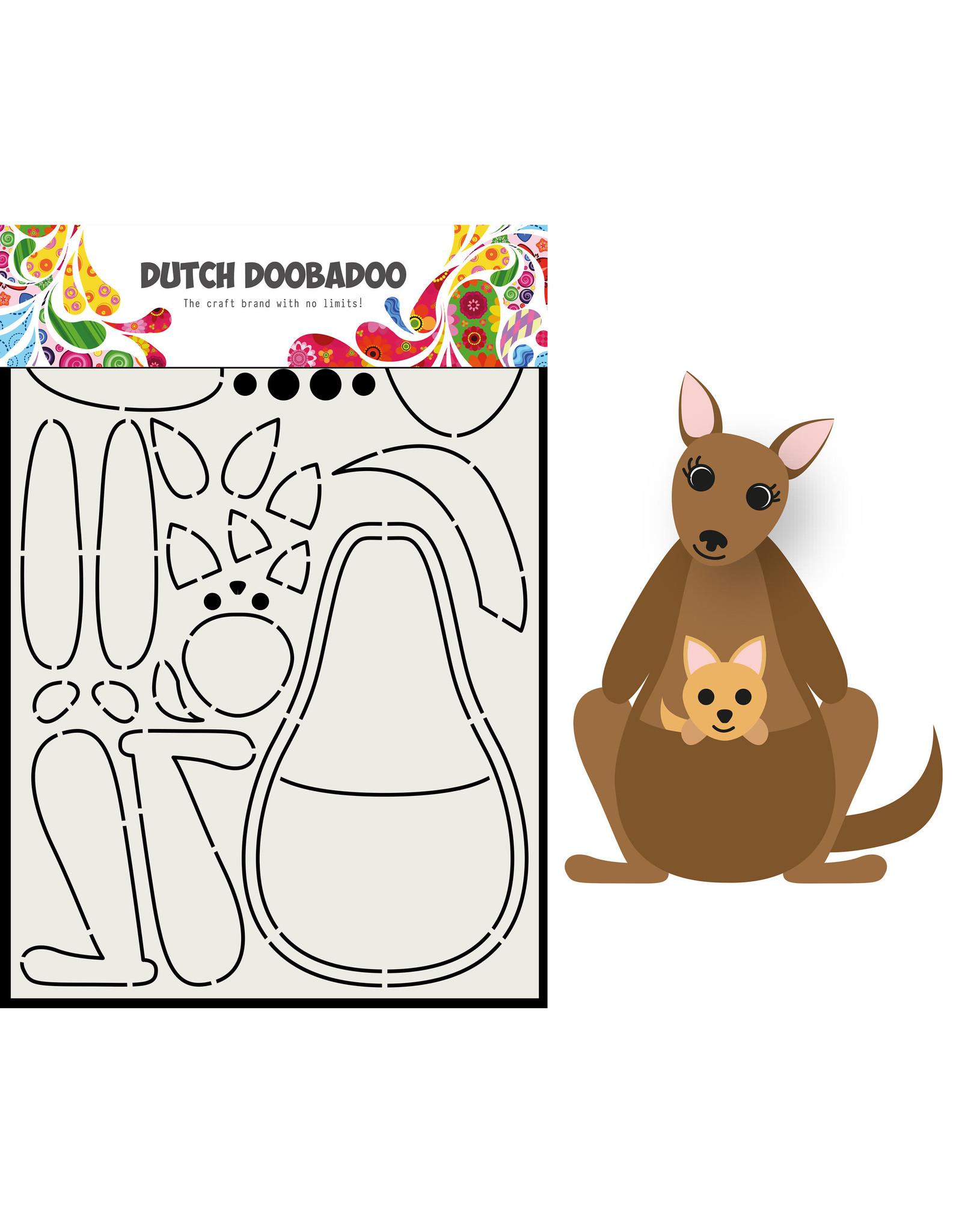 Dutch Doobadoo DDBD Card Art Built up Kangaroo