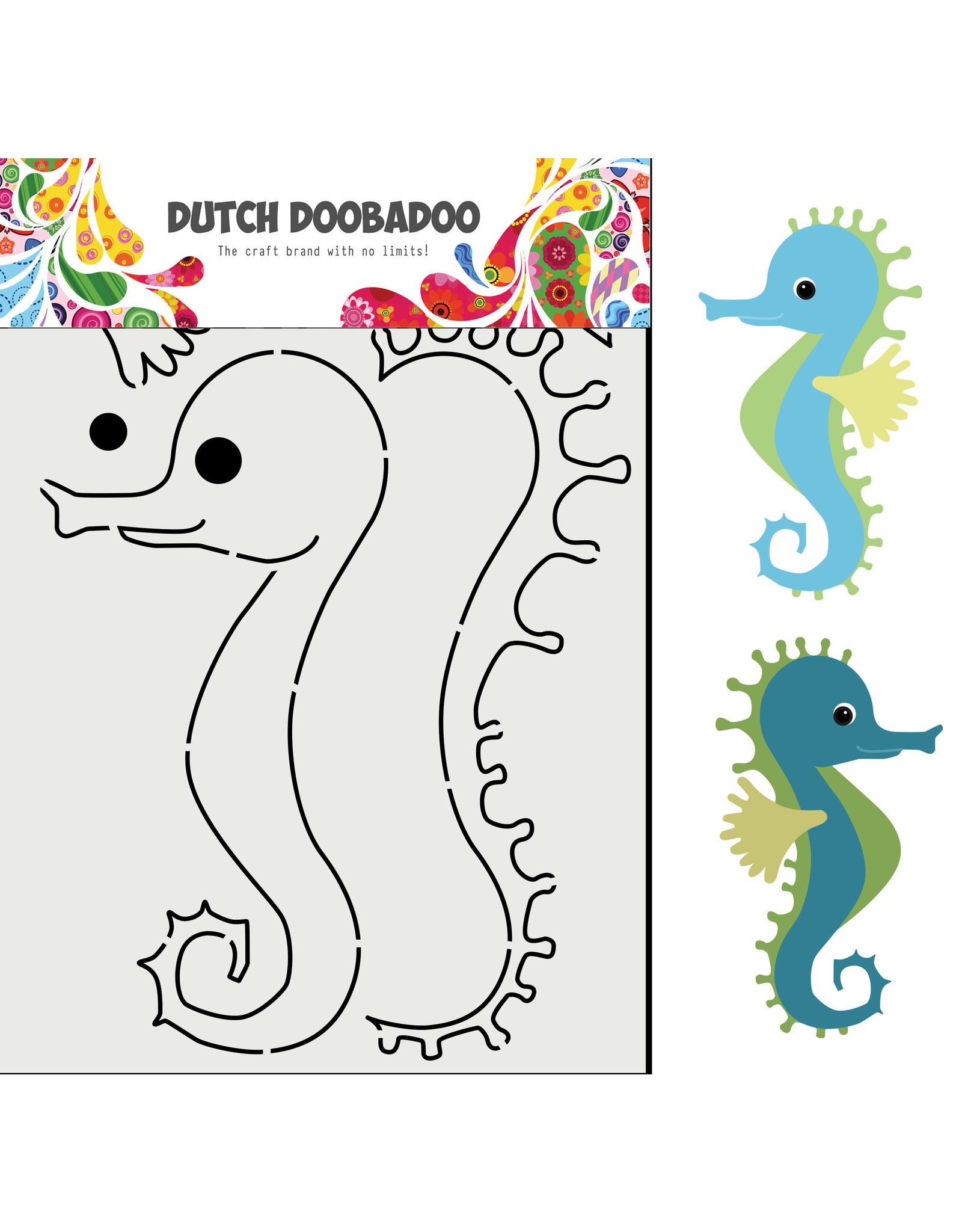 Dutch Doobadoo DDBD Card Art Built up Zeepaard