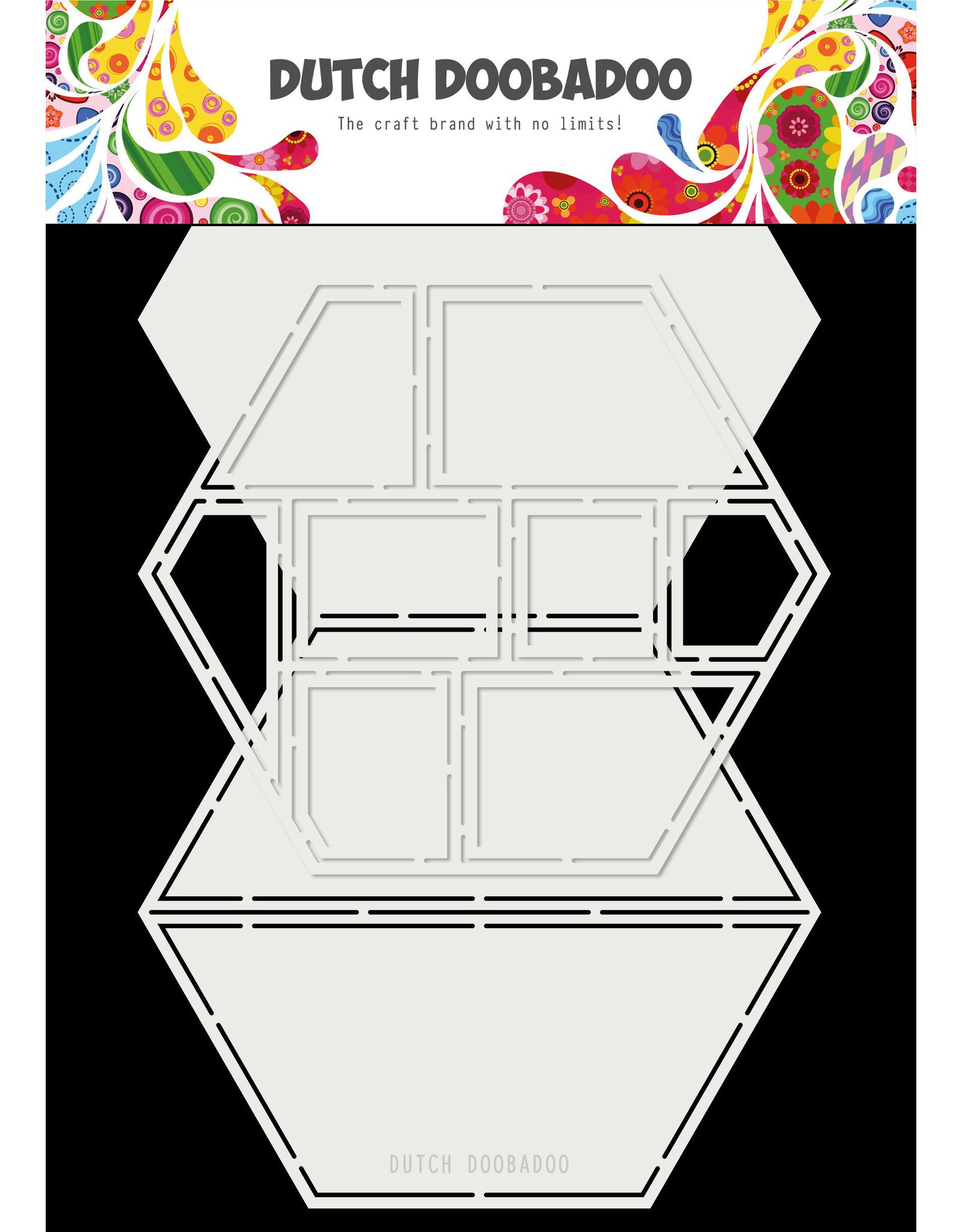 Dutch Doobadoo DDBD Card Art Easel Card hexagon 2pc