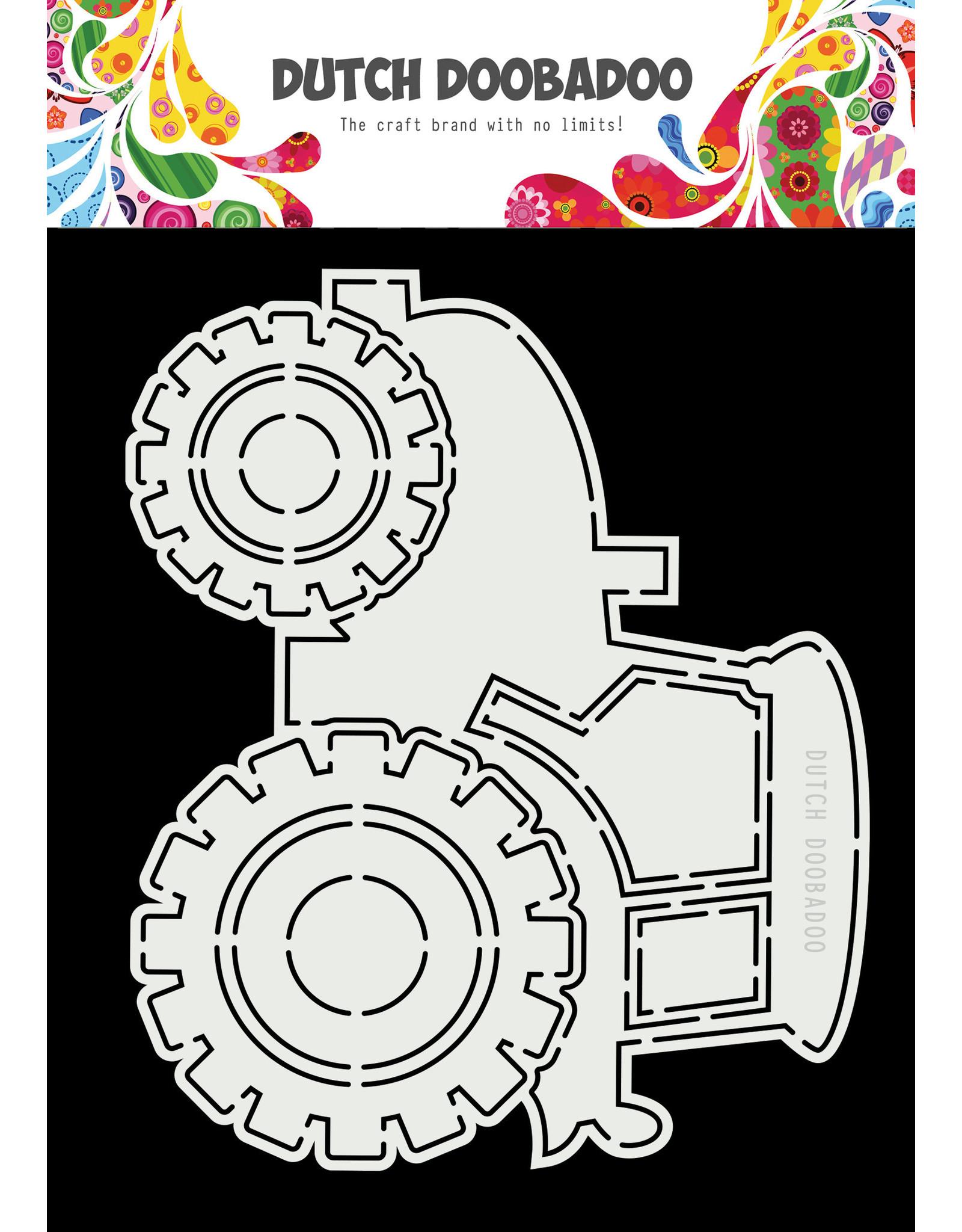 Dutch Doobadoo DDBD Card Art A5 Tractor