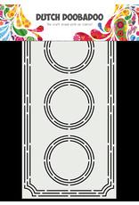 Dutch Doobadoo DDBD Card Art A5 Slimline Ticket