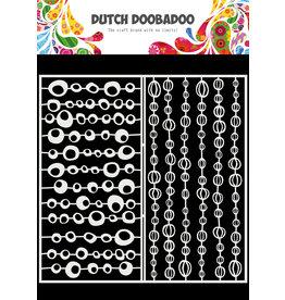 Dutch Doobadoo DDBD Mask Art Slimline Groovy Circles