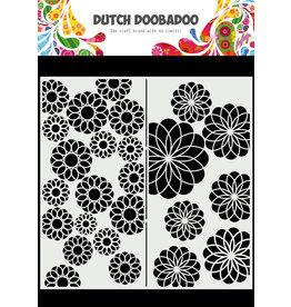 Dutch Doobadoo DDBD Mask Art Slimline Flowers