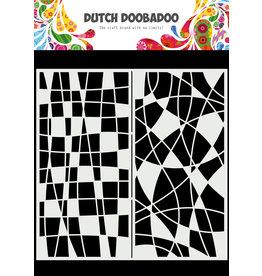 Dutch Doobadoo DDBD Mask Art Slimline Mosiaic Line