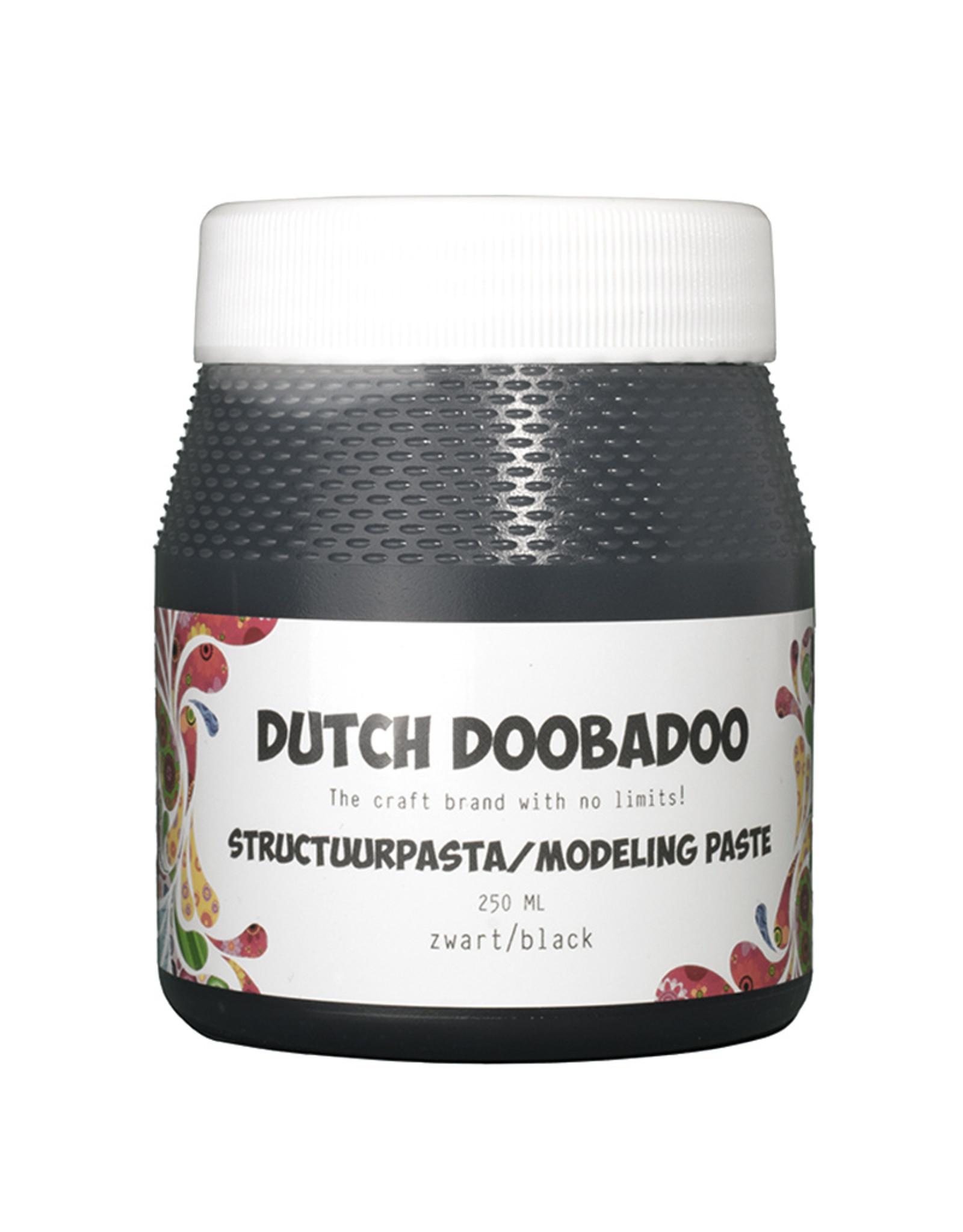Dutch Doobadoo Structuurpasta Zwart 250 ml
