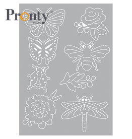 Pronty Crafts Stencil Insects A5