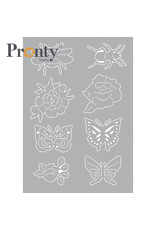 Pronty Crafts Stencil Insects 1 A5