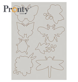 Pronty Crafts Chipboard A5 Insects