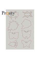 Pronty Crafts Chipboard A5 Insects 2