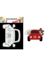 Dutch Doobadoo DDBD Card Art Built up Car A5