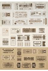 Dutch Doobadoo DDBD Dutch Sticker Art A5 Labels