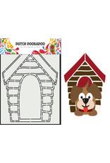 Dutch Doobadoo DDBD Card Art A5 Hondenhok