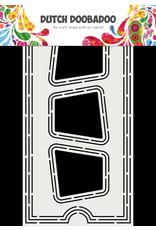 Dutch Doobadoo DDBD Card Art Slimline Ticket