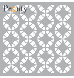 Pronty Crafts Mask stencil Retro Pattern 15 x 15 cm