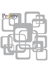 Pronty Crafts Mask stencil Retro Pattern Squares 15 x 15 cm