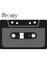 Pronty Crafts Foam stamps Cassette Tapes 110x69 mm