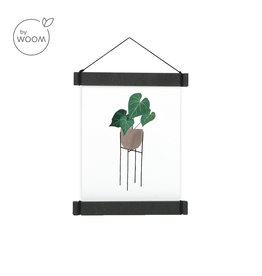 By WOOM    Posterhanger A5     MDF