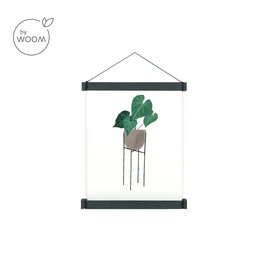By WOOM |  Posterhanger A4  |  MDF