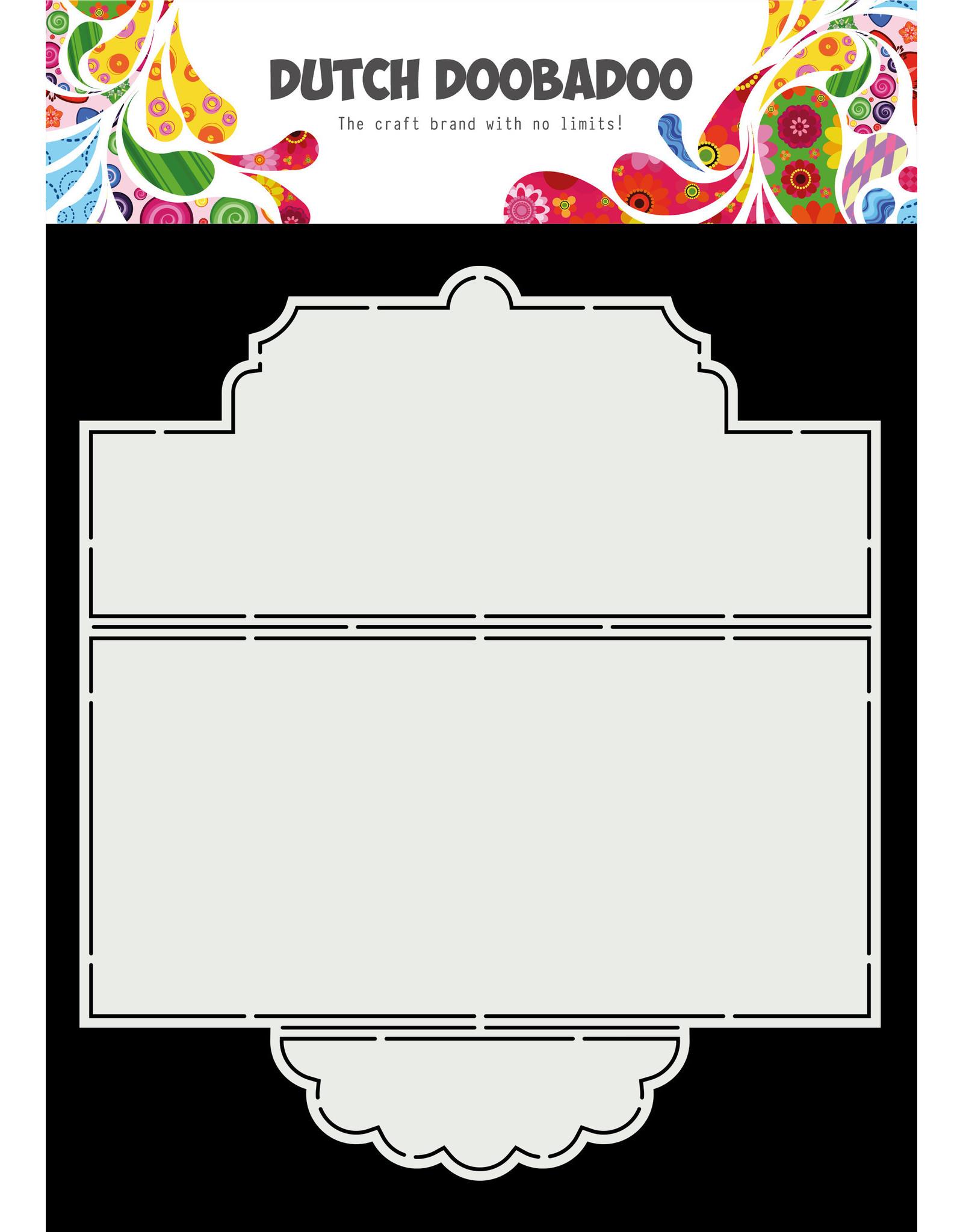 Dutch Doobadoo DDBD Card Art Slimline Tie card A4
