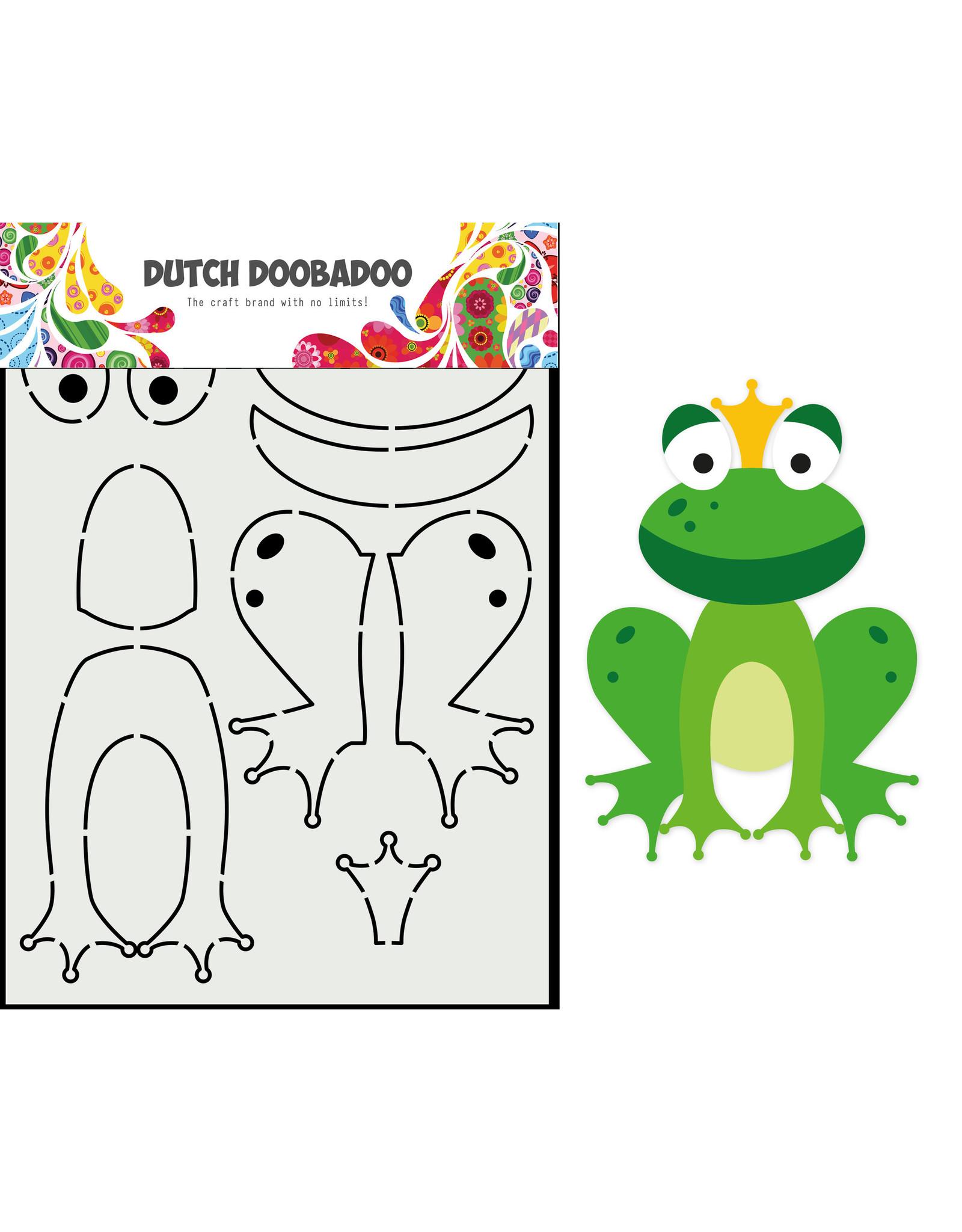 Dutch Doobadoo DDBD Card Art Built up Kikker A5