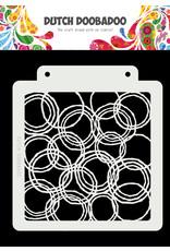 "Dutch Doobadoo DDBD Dutch Mask Art ""Grunge Circles"" A5"