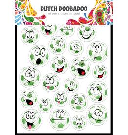 Dutch Doobadoo DDBD Dutch Buzz cuts A5 Voetbal