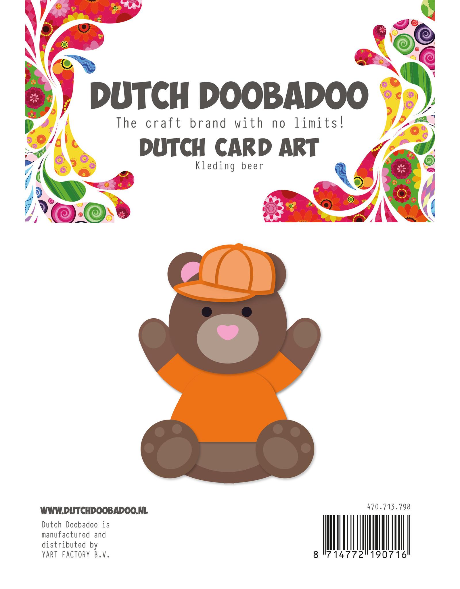 Dutch Doobadoo DDBD Buildup Art  Beren kleren A5