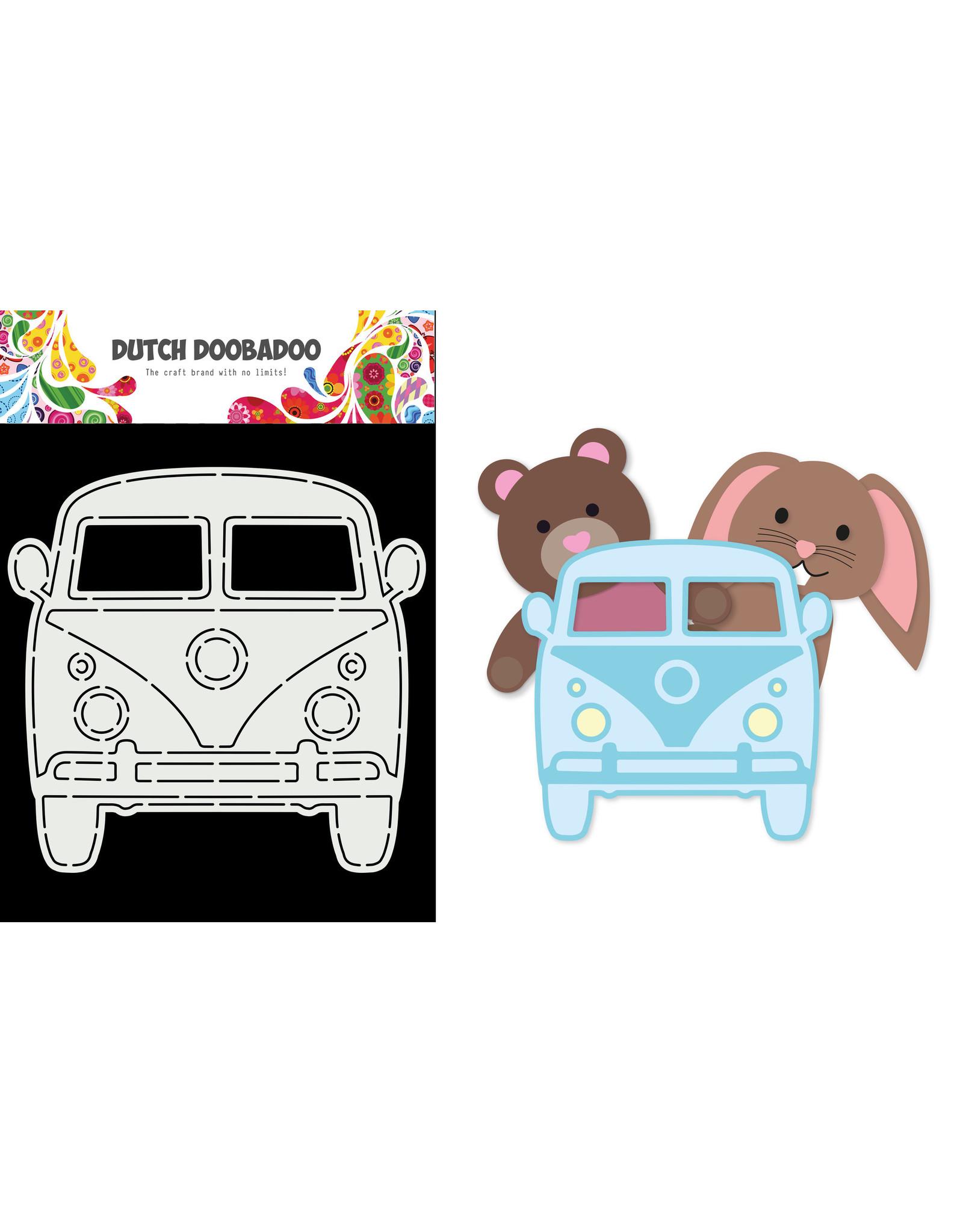 Dutch Doobadoo DDBD Card Art  Car VW