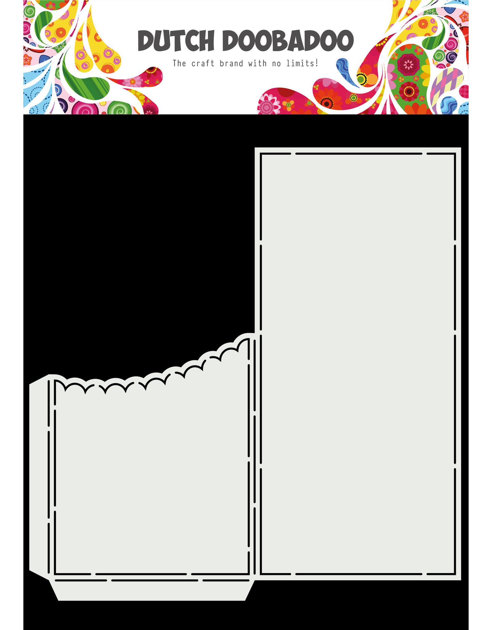 Dutch Doobadoo DDBD Card Art  - Slimline Scallop Pocket