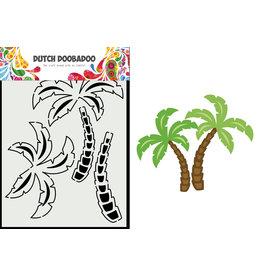 Dutch Doobadoo DDBD Card Art A5 Palm tree